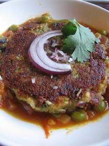 Индийское блюдо - тикка
