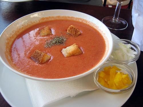 Гаспачо — холодный испанский суп