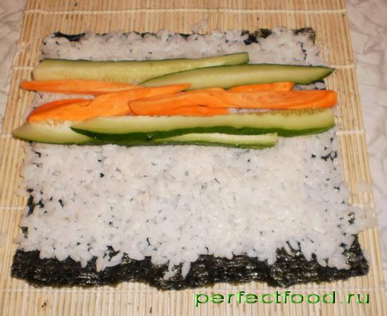 Рис для ролл в домашних условиях рецепт