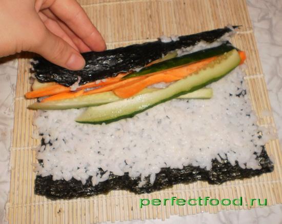 как готовить суши и роллы в домашних условиях пошаговая инструкция