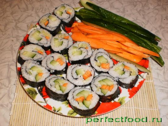приготовление суши в домашних условиях фото рецепты