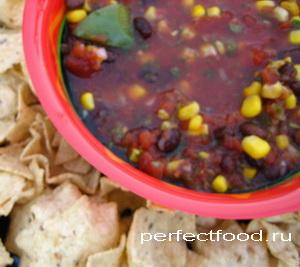 Сальса — рецепт ледяного супа