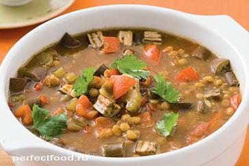 Суп из чечевицы — рецепт