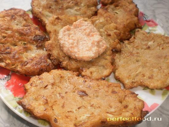 Как приготовить кабачковые оладьи без яиц - рецепт с фото