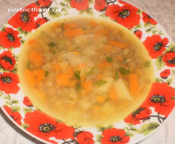 Как приготовить чечевичный суп с тыквой - рецепт