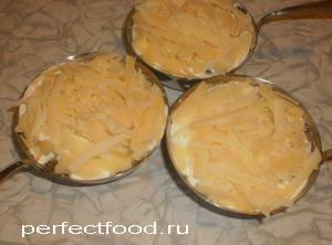 Жюльен с сыром