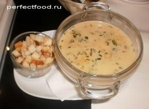 Крем суп из шампиньонов или лесных грибов
