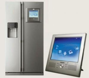 Электронная панель управления холодильником