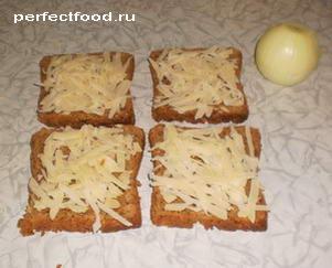 рецепт лукового супа с гренками с
