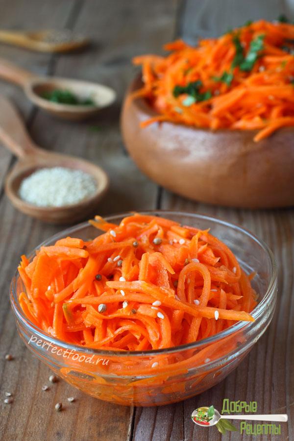 Как приготовить морковку по-корейски - рецепт с фото и видео