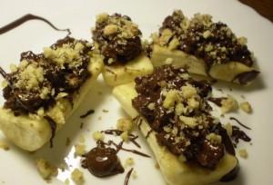 Рецепт десерта из бананов