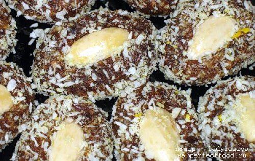 Конфеты из сухофруктов и орехов