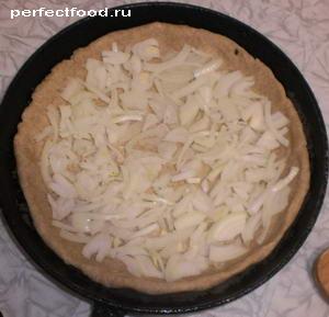 Тесто с луком