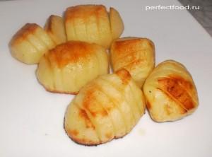 Как приготовить печёную картошку-гармошку
