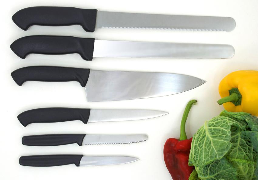Виды и наборы ножей для дома