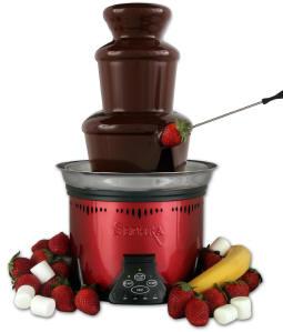 Шоколадный фонтан — удивительное приспособление для сладкоежек