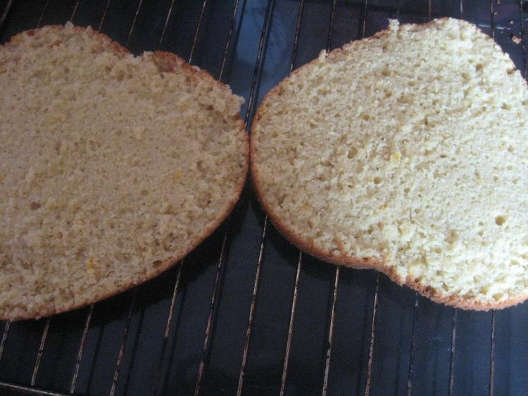 Как приготовить бисквит без яиц и молока