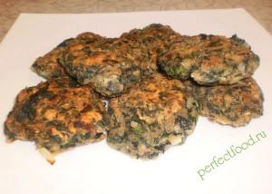 Рецепты блюд из крапивы - котлеты