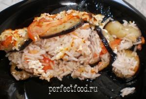 Как приготовить рисовую запеканку