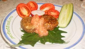 Рецепт приготовления котлет из баклажанов
