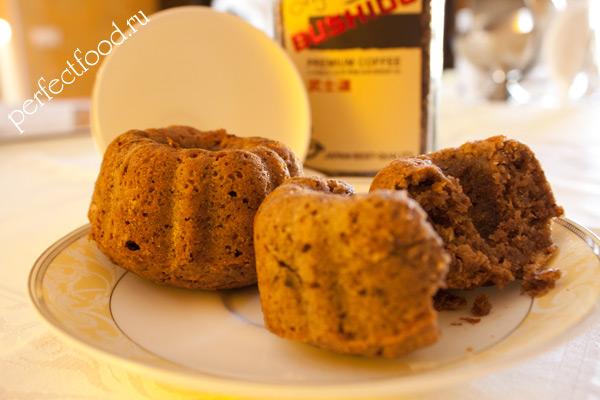 Кексы из кабачков — фото-рецепт