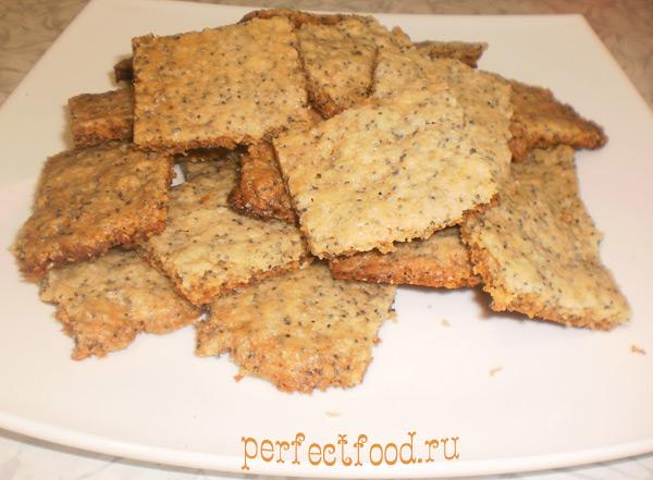 Рецепт печенья с маком