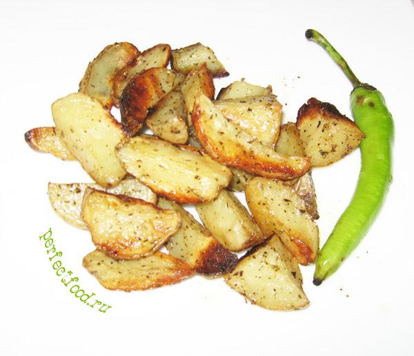 Картошка по-деревенски (по-селянски) в духовке