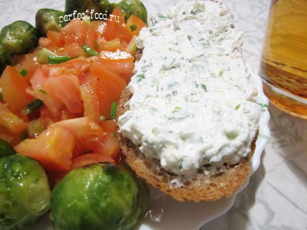 Как приготовить творожный сыр с зеленью в домашних условиях 199