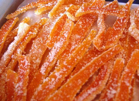 Как делать цукаты из апельсинов