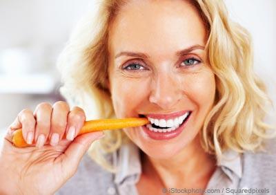 Лечение пародонтоза с помощью овощей