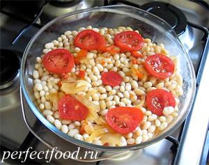 Как приготовить запечённую фасоль по-сербски