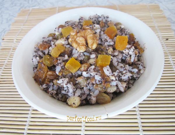 Кутья из риса — фото-рецепт