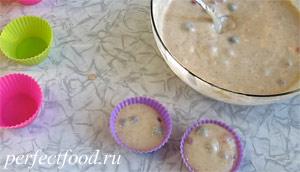 Маффины с ягодами без яиц и молока - рецепт с фото 7