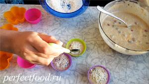 Маффины с ягодами без яиц и молока - рецепт с фото 8