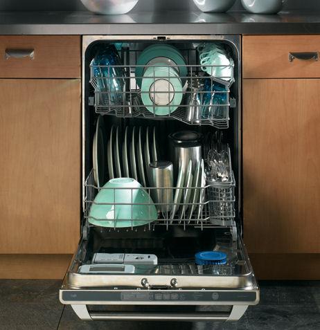 Преимущества посудомоечной машины.