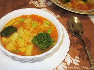 Суп с булгуром - рецепт с фото