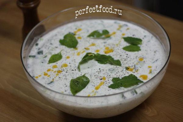 Болгарский суп с огурцом — таратор