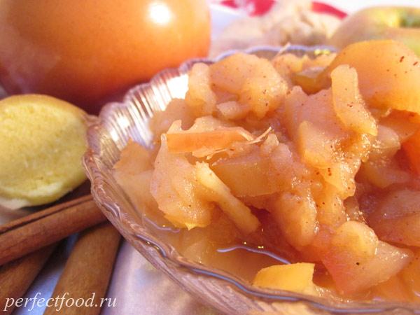 Запечённые яблоки в духовке - рецепт