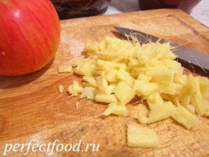 Яблоки запечённые в духовке - рецепт с фото 2 - имбирь
