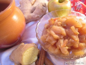 Запечённые яблоки в духовке с мёдом и корицей в горшочках
