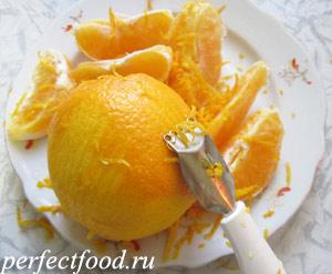 Снимаем с апельсинов кожуру Готовим апельсиновый джем - фото 1