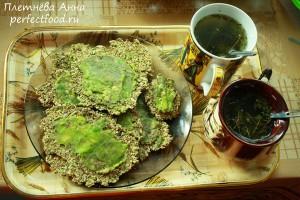Как приготовить сыроедные хлебцы с авокадо