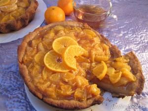 Мандариновый пирог - рецепт с видео