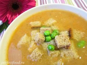 Суп-пюре овощной - рецепт