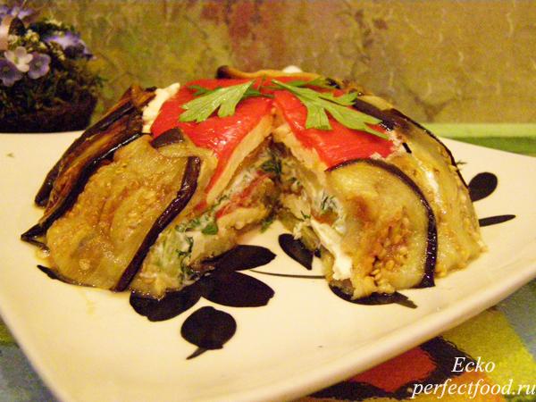 Террин из баклажанов — праздничная закуска