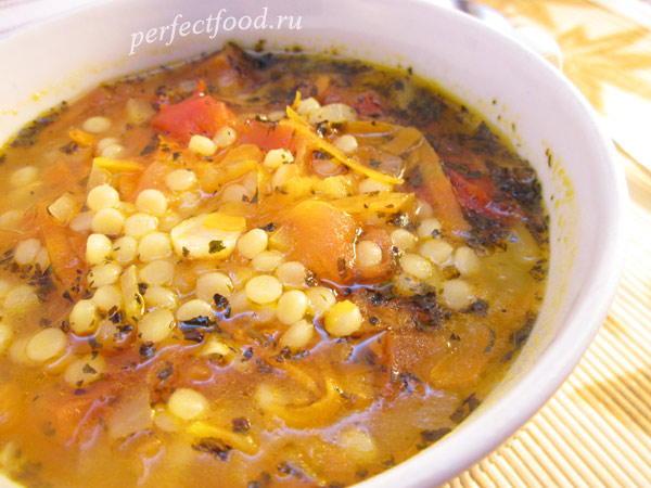 Кускус. Рецепт супа с кускусом + видео