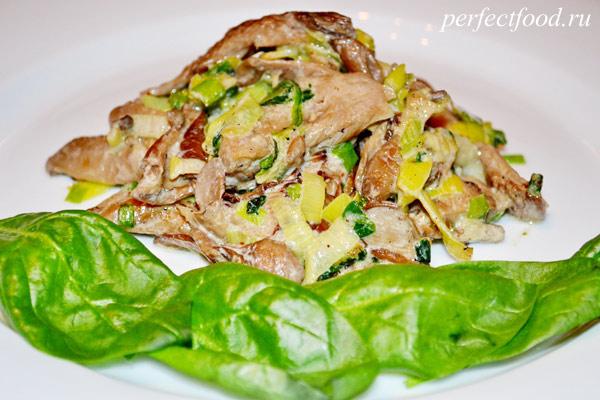 Вешенки - 39 рецептов приготовления пошагово - 1000.menu