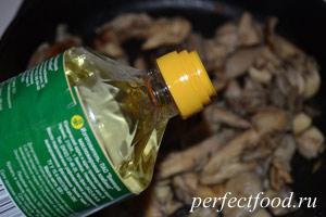 грибы вешенки жареные рецепт с фото пошагово #11