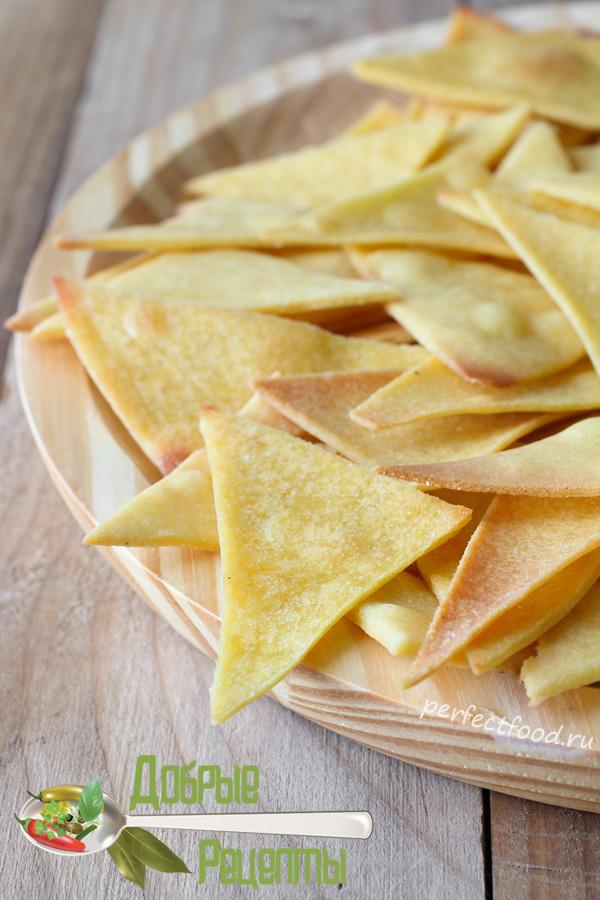 Как приготовить начос - кукурузные чипсы