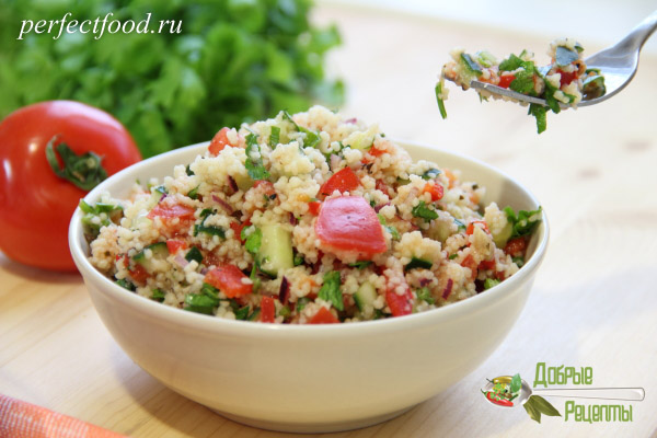 Салат табуле - рецепт с фото